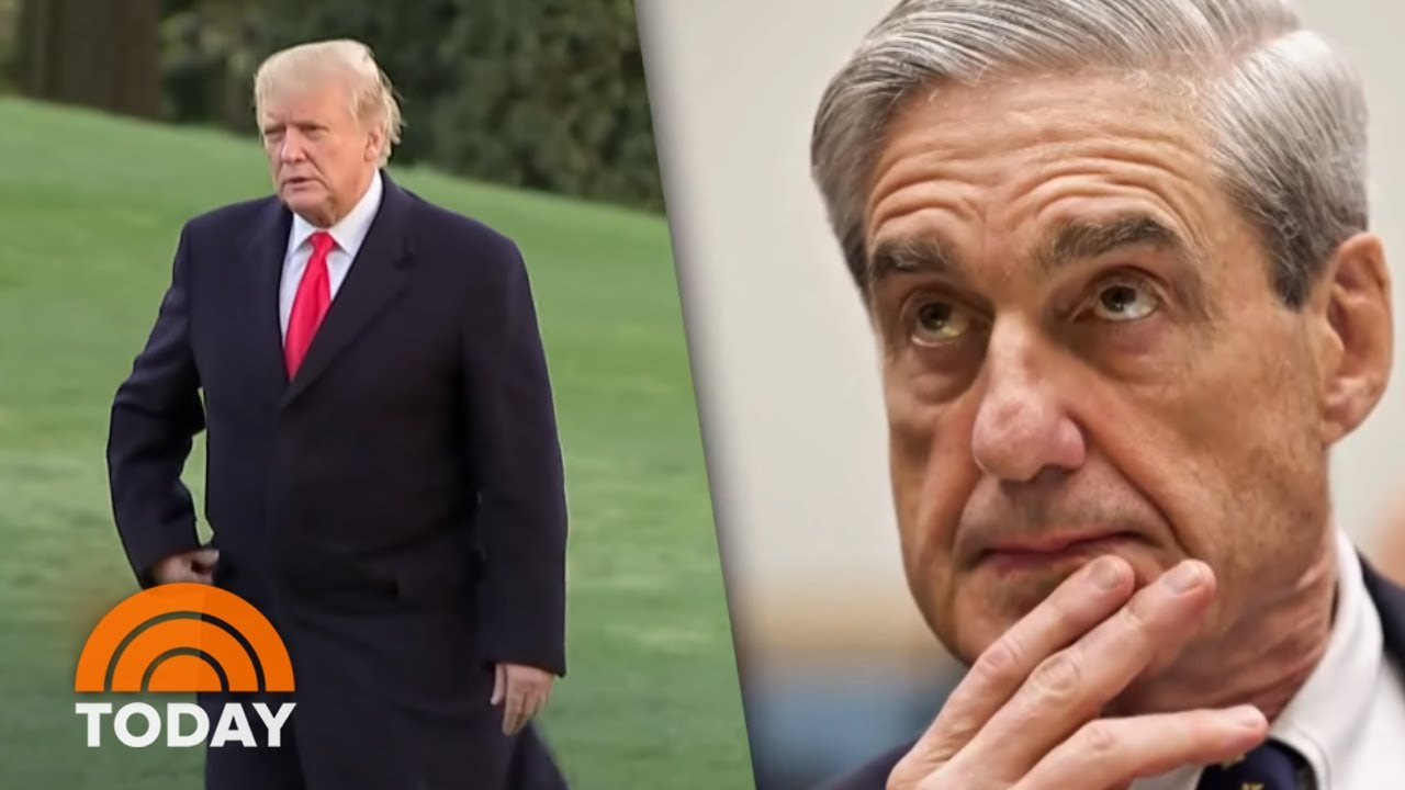 Mueller-Report-Dems-Look-For-Options-President-Donald-Trump-Declares-Back-To-Work