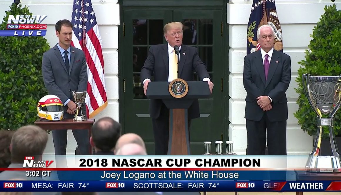2018-NASCAR-CHAMP-President-Trump-Hosts-Joey-Logano-at-the-South-Lawn