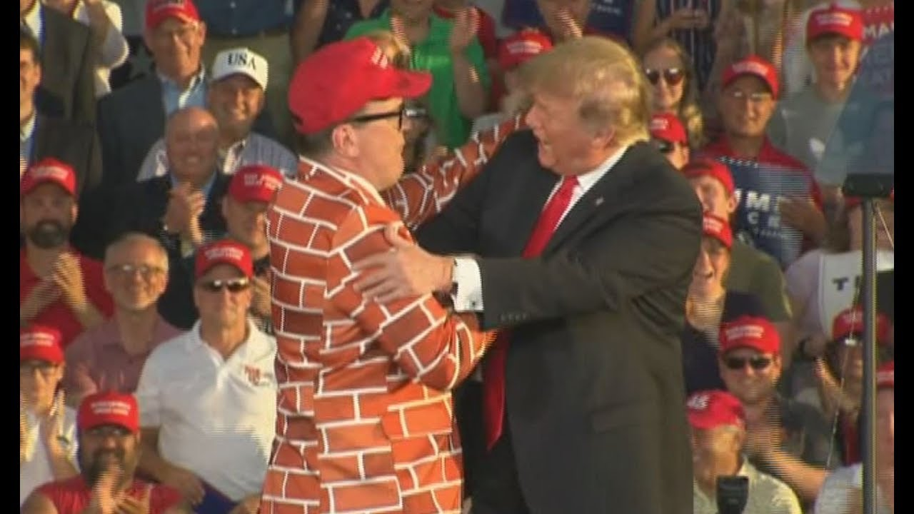 MAGA-WALL-SUIT-MAN-President-Trump-Invites-Fan-On-Stage