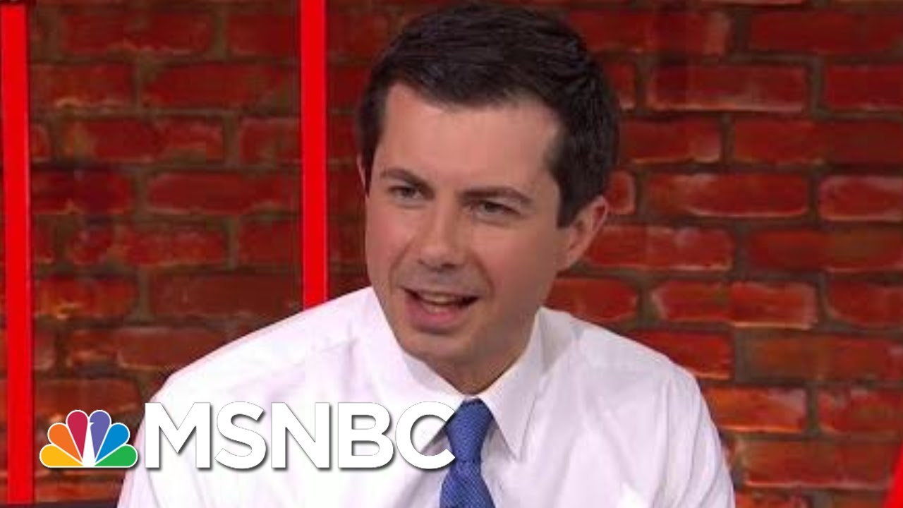 Mayor-Pete-Buttigieg-Reacts-To-President-Donald-Trumps-Rally-Remarks