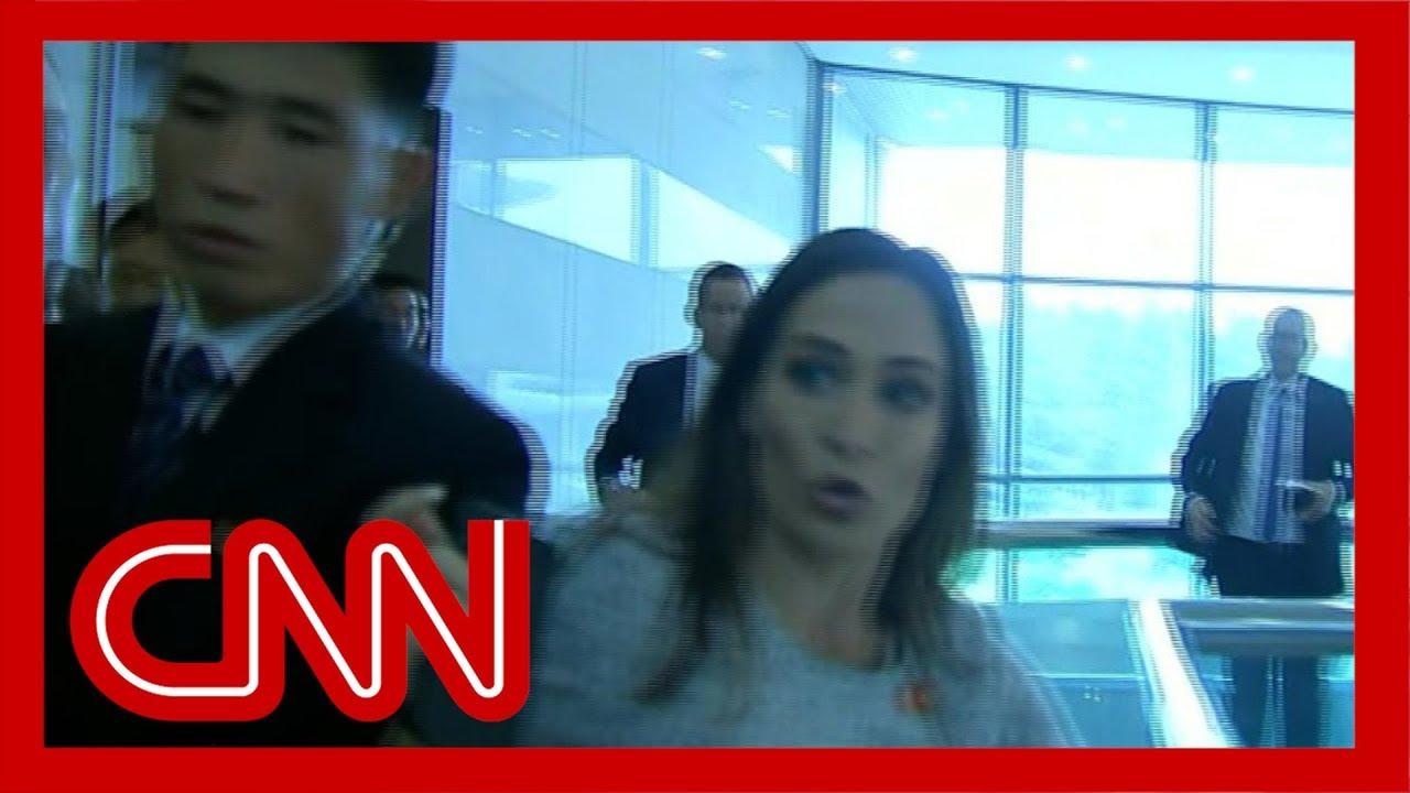 Stephanie-Grisham-injured-by-North-Korean-officials
