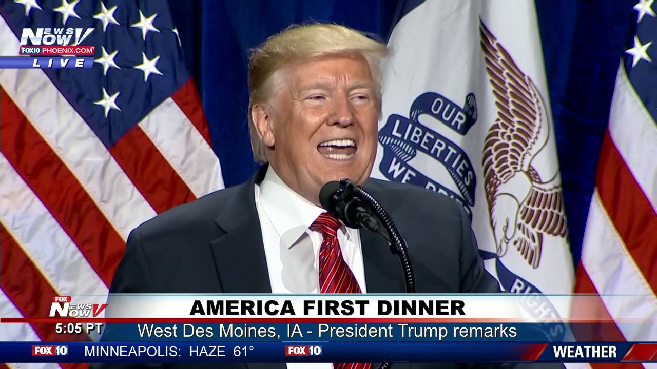 AMERICA-FIRST-DINNER-President-Trump-Full-Remarks-in-West-Des-Moines-IA