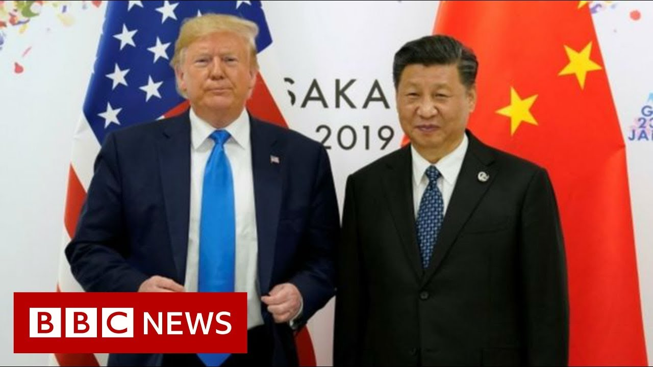 Trump-suggests-personal-meeting-with-Chinese-president-BBC-News
