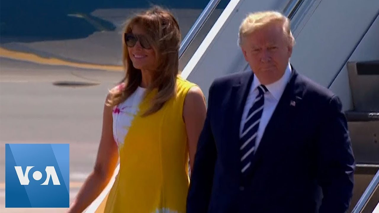 President-Donald-Trump-Arrives-in-France-for-G7-Summit