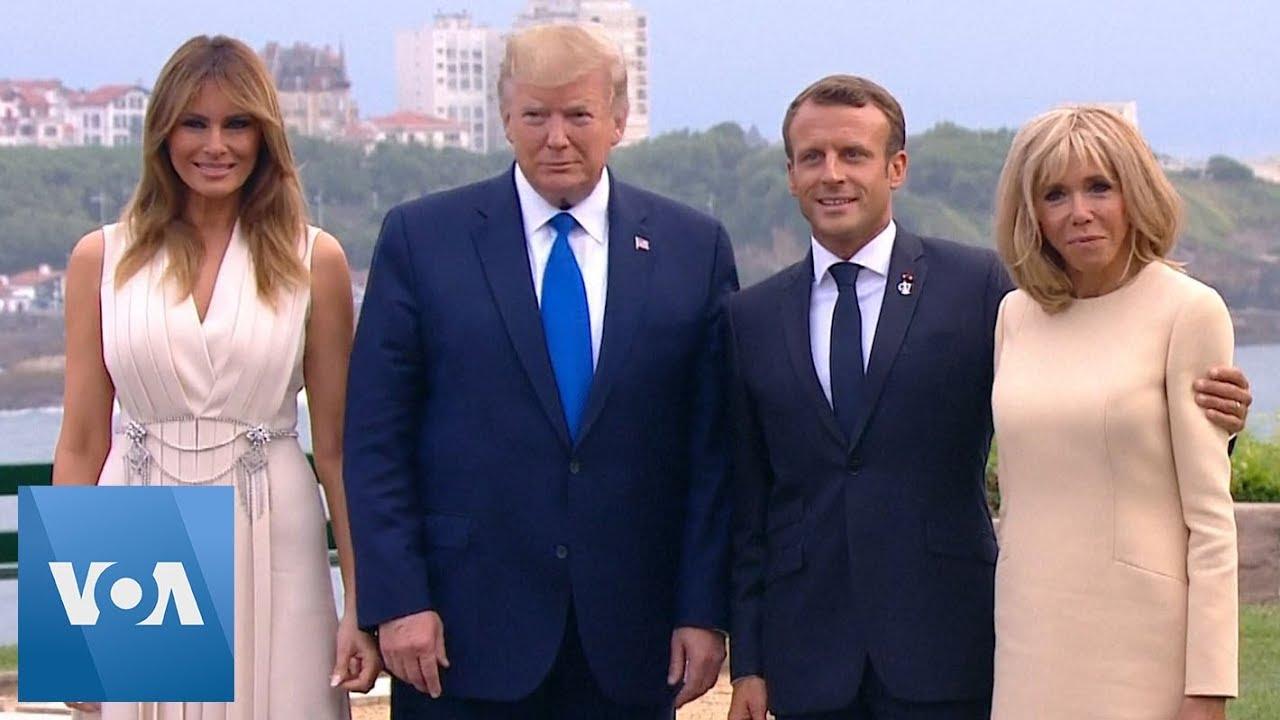Macron-Hosts-Donald-Trump-Boris-Johnson-and-Angela-Merkel-for-Dinner-as-G7-Summit-Opens