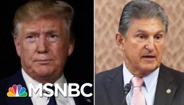President-Donald-Trump-And-Joe-Manchin-Meet-To-Discuss-Gun-Legislation
