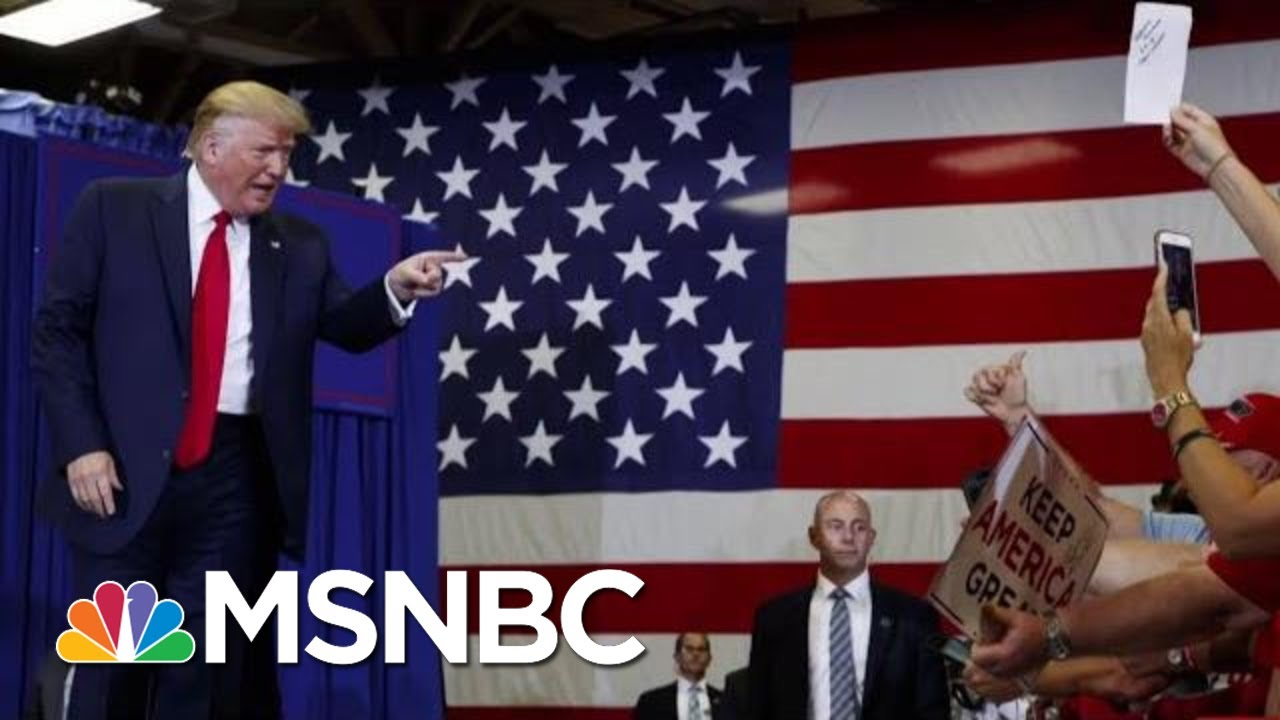 President-Donald-Trump-Paints-Bleak-Picture-At-North-Carolina-Rally