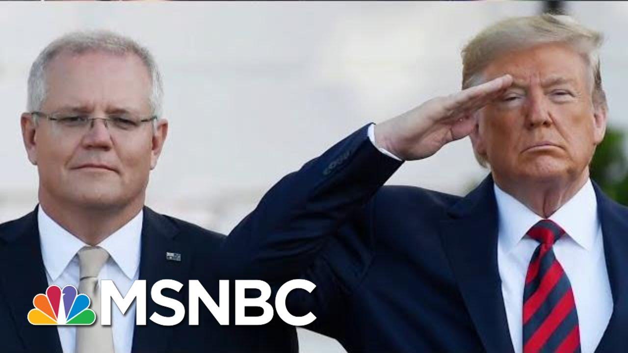 President-Donald-Trump-Under-Fire-For-2020-Collusion