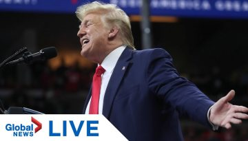 U.S.-President-Trump-holds-rally-in-Lake-Charles-Louisiana