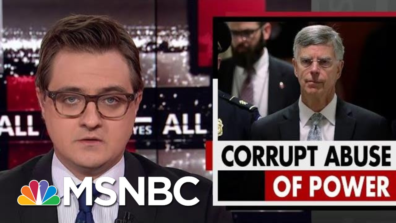 Chris-Hayes-On-Bill-Taylors-Damning-Testimony-Against-President-Donald-Trump