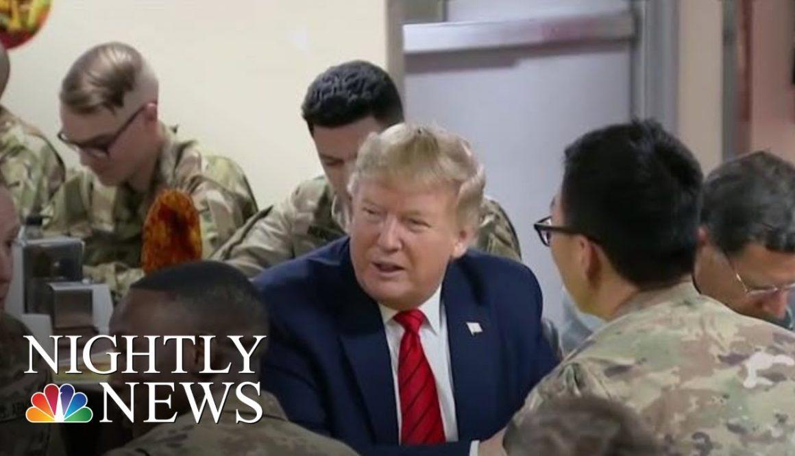 Trump-Surprises-Troops-In-Afghanistan-On-Thanksgiving