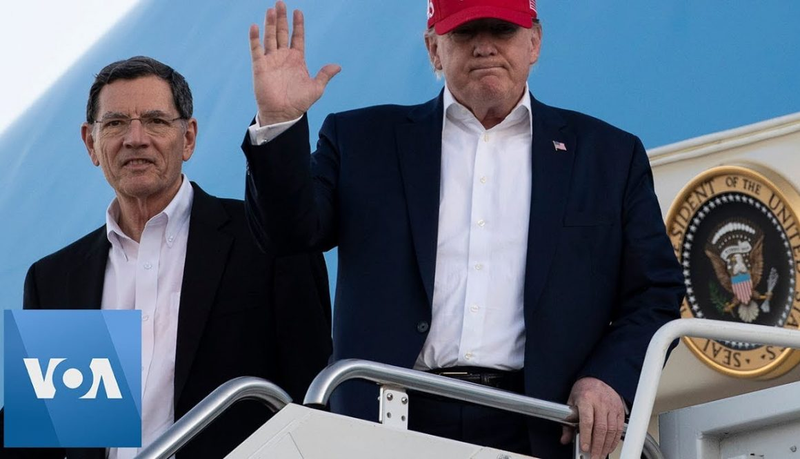 US-President-Donald-Trump-Returns-To-Florida-Following-Afghanistan-Visit