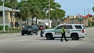 Heavy-police-presence-near-President-Trumps-Mar-a-Lago