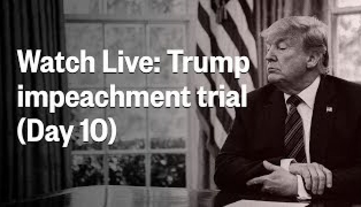 Senate-Impeachment-Trial-Of-President-Trump-Day-10