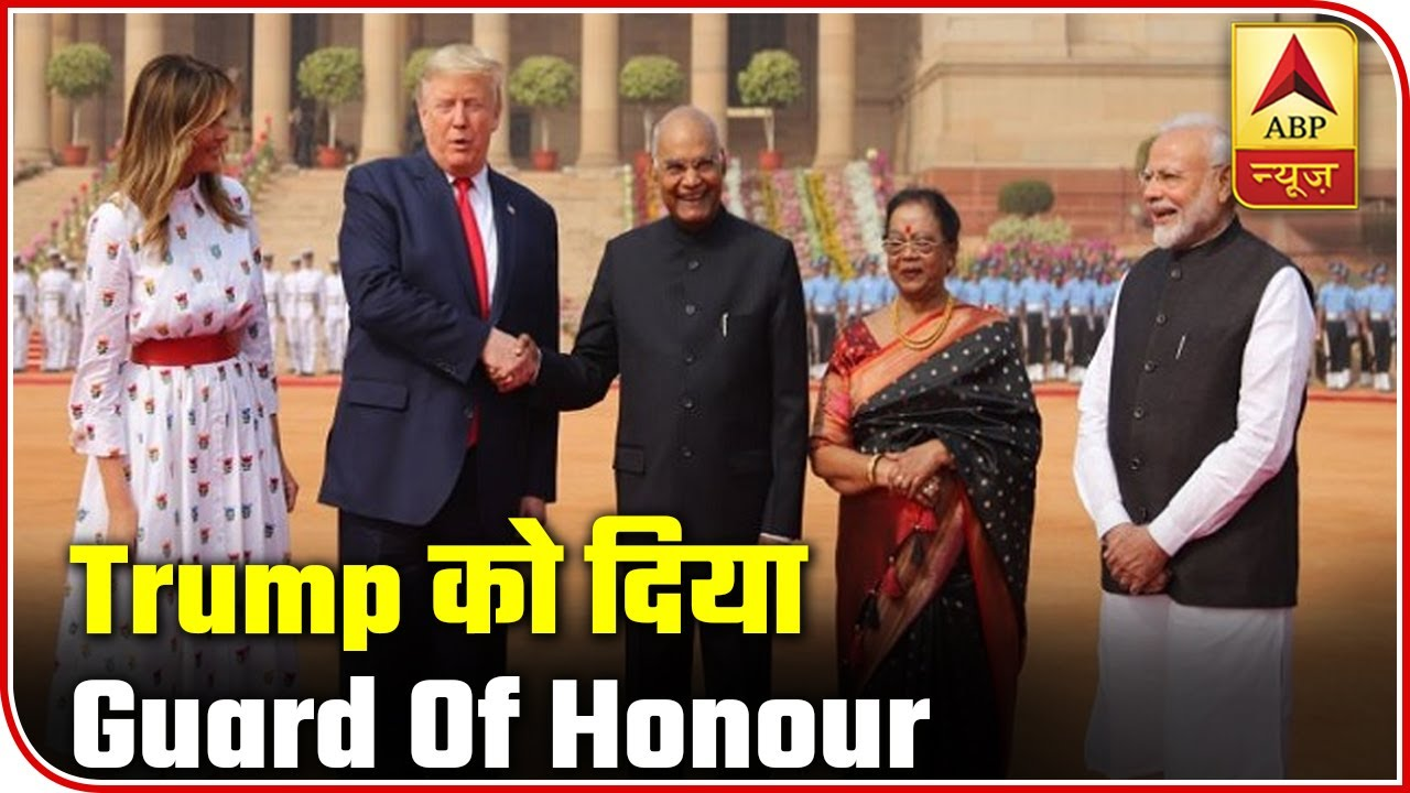 Donald-Trump-inspects-the-Guard-of-Honour-at-Rashtrapati-Bhavan