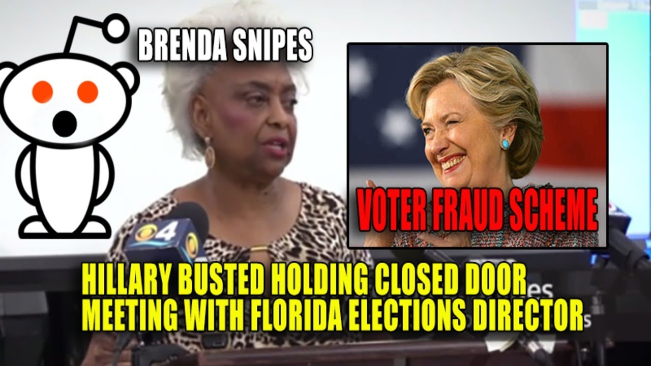 Busted: Hillary Closed Door Meeting with Florida Elections