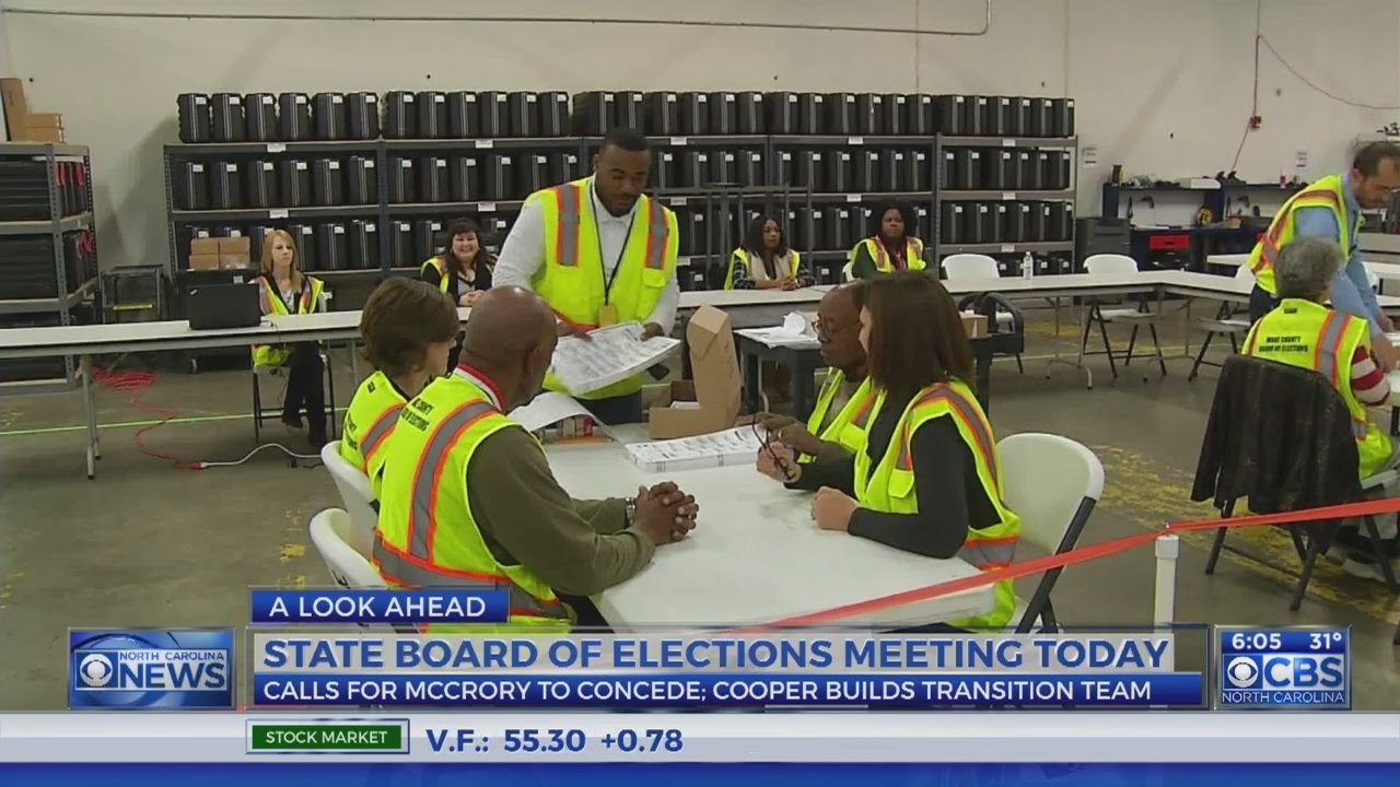 NC-Board-of-Elections-to-meet-Tuesday-amid-calls-for-Gov.