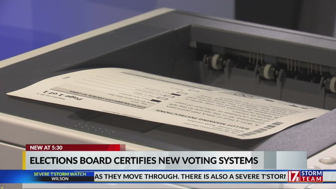 NC-Board-of-Elections-certifies-new-voting-machines