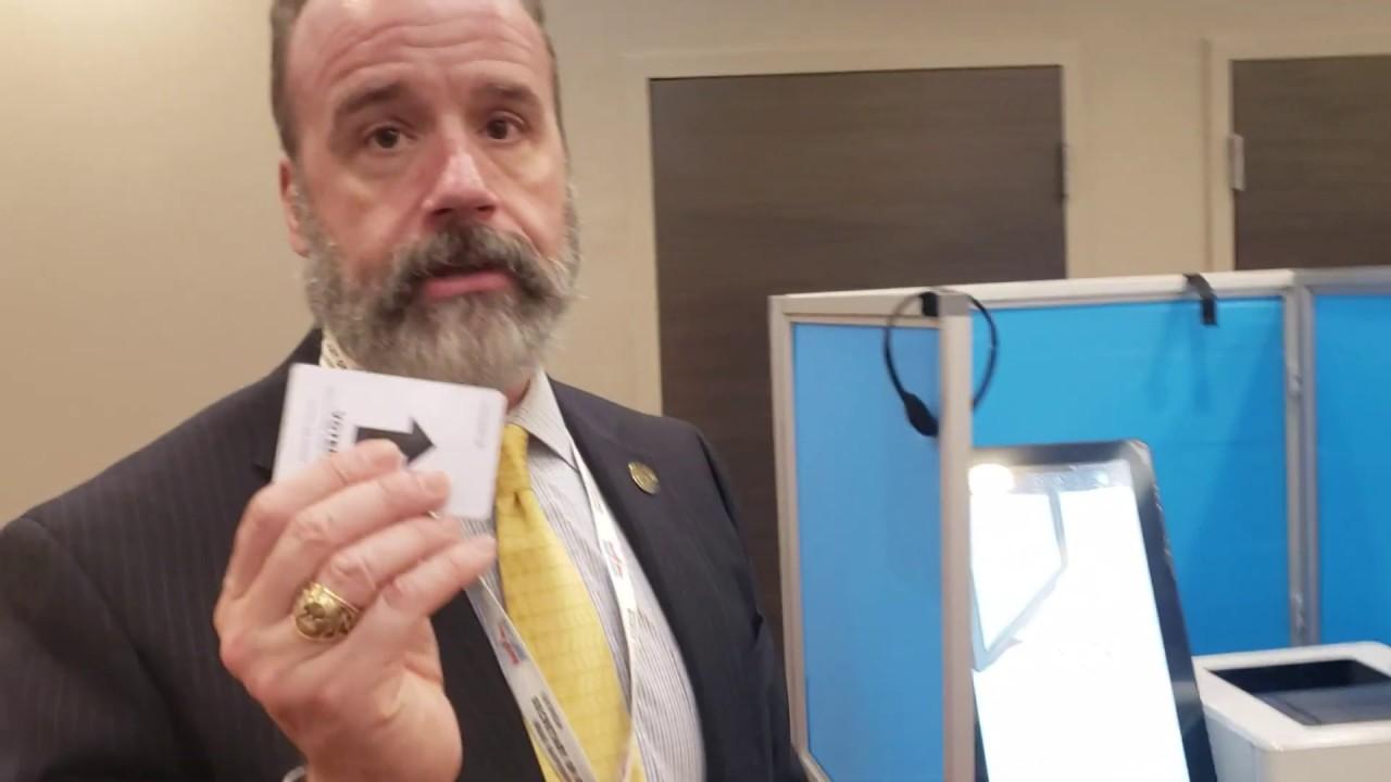 Georgia-Elections-Director-Chris-Harvey-demonstrates-new