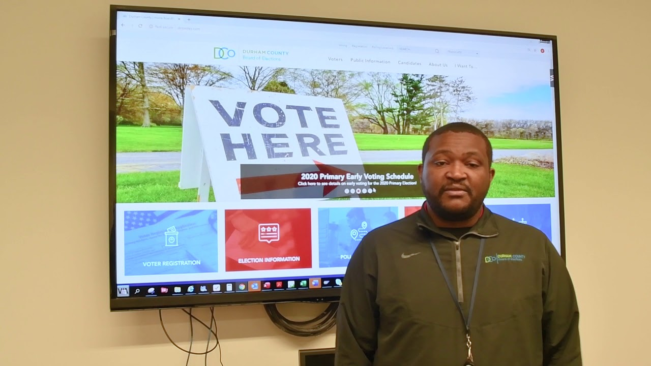 Durham-County-Board-of-Elections-March-3-2020-Primary