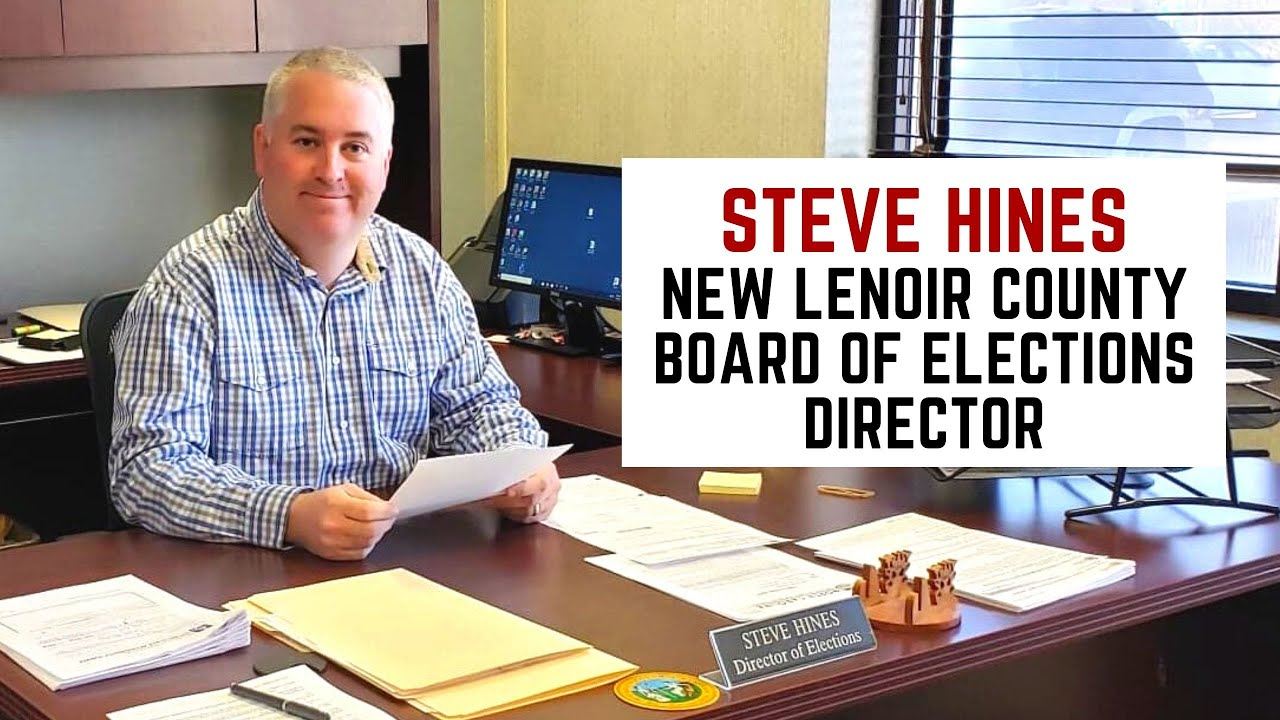 Steve-Hines-New-Lenoir-County-Board-of-Elections-Director