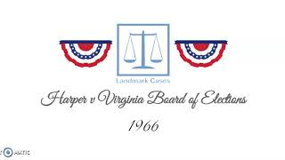 Harper-v-Virginia-Board-of-Elections-1966