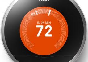 Nest wi-fi thermostat