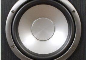 f-3 no-grille speaker