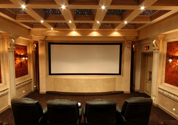 Genial The Best Way To Authenticate The Look And Feel Of A Movie Theater In Your  Own Home Is By Using A Projection Screen. A Home Theater Screen, Just Like  The ...