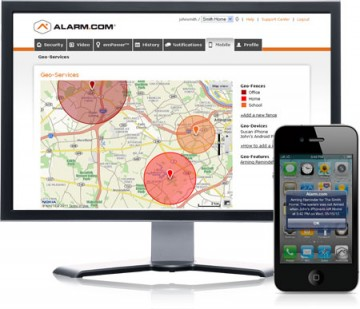 Alarm-GeoServices