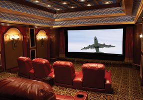 Stewart Filmscreen Total Close CineCurve Home Theater Screens