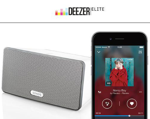 Deezer Elite high definition audio