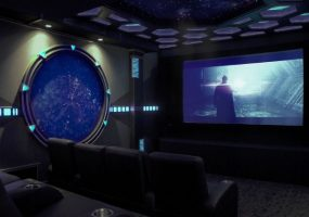 sci fi home theater design
