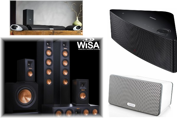 Wireless Surround Sound Speakers Help Cut Clutter Electronic House