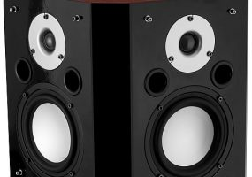Fluance XLBP Wide Dispersion Bipolar Surround Sound Audio Speakers