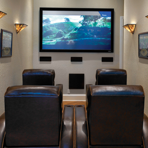 Great Small Room Home Theater Ideas