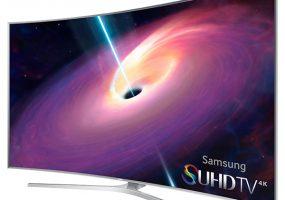 Samsung's JS9500 Curved SUHD 4K TVs
