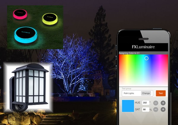 smart outdoor lighting ideas for home automation, security and