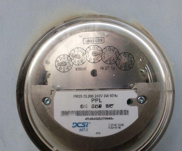 electricity meter not smart