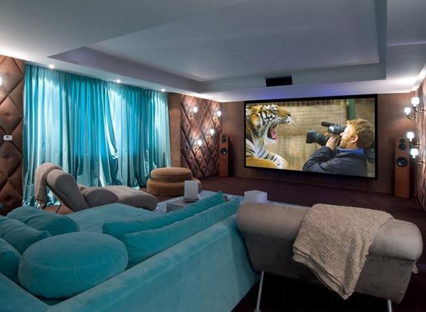 Beau Home Theater Design