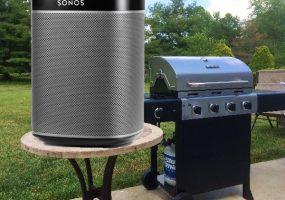 sonos play 1 outdoor speakers