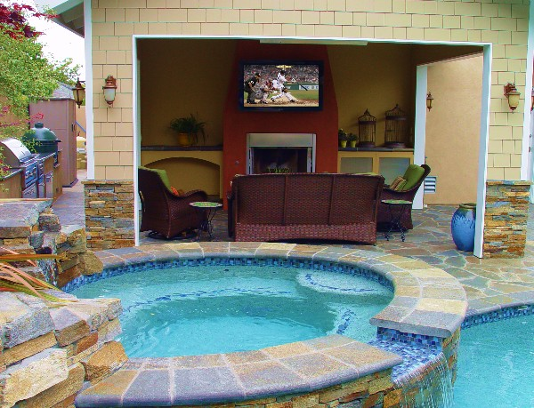 Nice Outdoor Tv And Outdoor Speakers By Steve Hunter