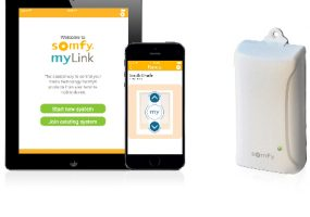 Somfy myLink Puts You in Control of Motorized Window Shades