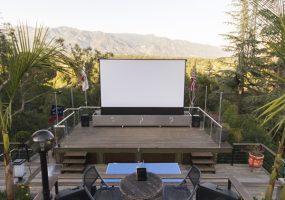 Elan g! Outdoor Home Theater Screen