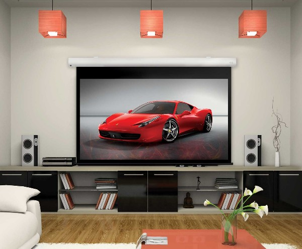 Why You May Want a Dark Home Theater Screen - Electronic House