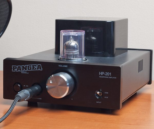 Pangea Audio Debuts HP201 Hybrid Tube Headphone Amp with 24/192 USB DAC