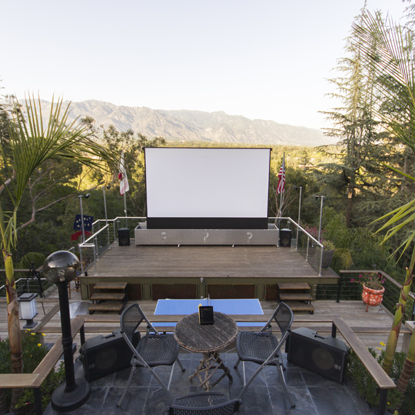 ideas for outdoor theater