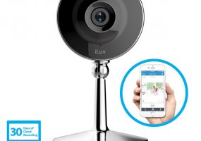 iLuv mySight Wireless Home Security Cameras
