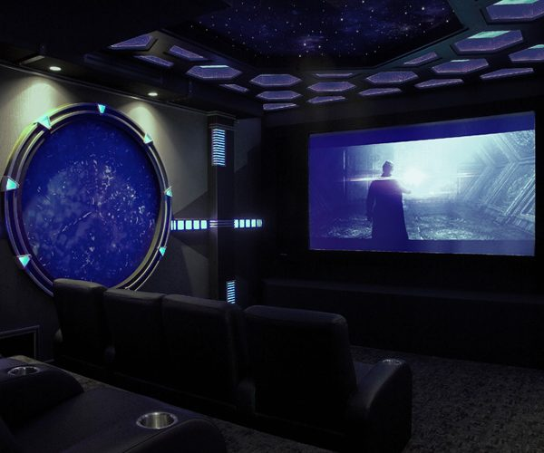 4 Favorite Movie-Themed Home Theaters - Electronic House