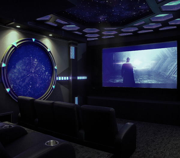 Home Theater Ideas 4 favorite movie-themed home theaters - electronic house